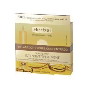 Boutique del Perfume: Herbal Hispania Sun Repair Tratamiento Reparador Express Concentrad Pack 4u. 48ml