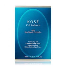 Boutique del Perfume: Kose Cell Radiance Mascarilla Onsen Spa Soja Repair Cocktail Tm 6un