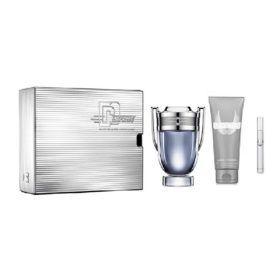 Boutique del Perfume: Paco Rabanne Invictus Eau De Toilette 100ml + Desodorante 150ml Vaporizador + Miniatura 10ml