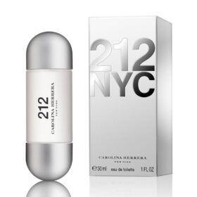 Boutique del Perfume: Carolina Herrera 212 Eau De Toilette 30ml Vaporizador