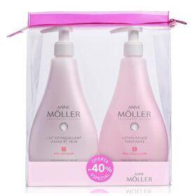 Boutique del Perfume: Anne Moller Anne Moller Leche Corporal Desmaquillante 400ml + Locion Tonificante 400ml