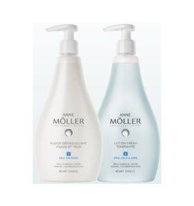 Boutique del Perfume: Anne Moller Anne Moller Desmaquillante Fluido 400ml + Locion Fresh 400ml
