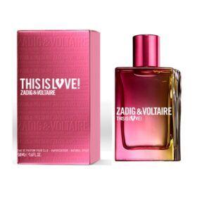 Boutique del Perfume: Zadig&voltaire This Is Love Elle Eau De Parfum 50ml Vaporizador
